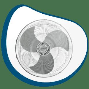 Ventilador Industrial de Pared de Alta Velocidad V-WFB20B