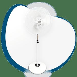 Ventilador Industrial de Pedestal de Alta Velocidad V-SFB20B