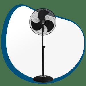 Ventilador Industrial de Pedestal de Alta Velocidad V-SFB20N
